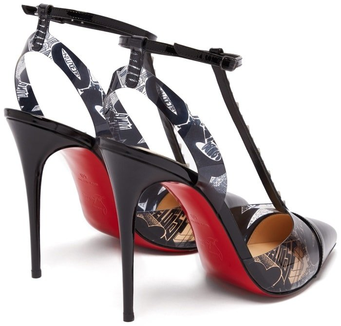Combining boldness with modernity, these pumps are inspired by the creative expression of street art