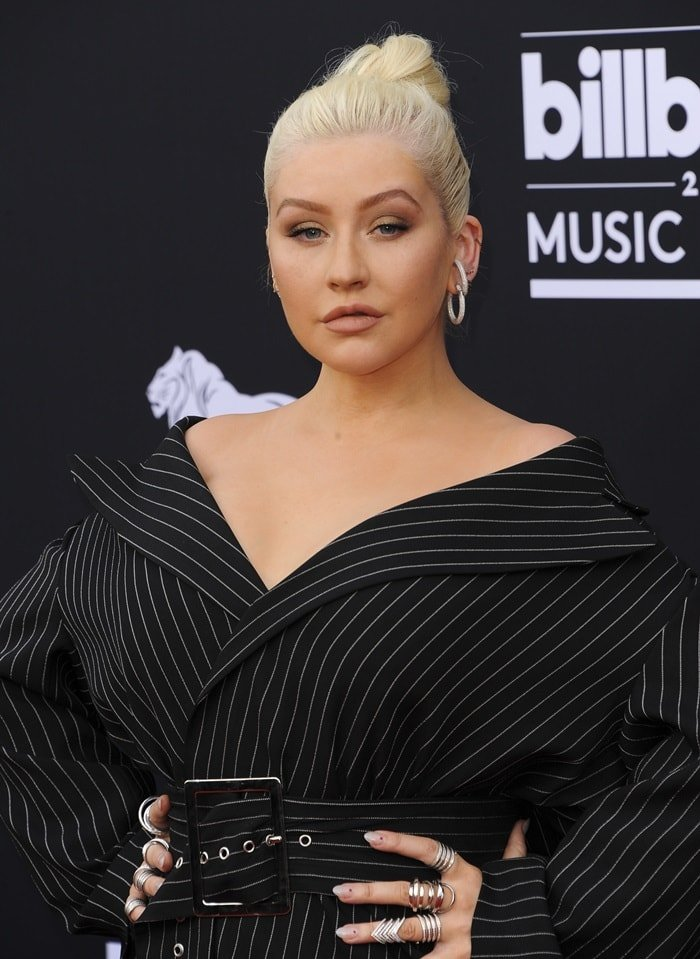 Christina Aguilera at the 2018 Billboard Music Awards held at the MGM Grand Garden Arena in Las Vegas on May 20, 2018