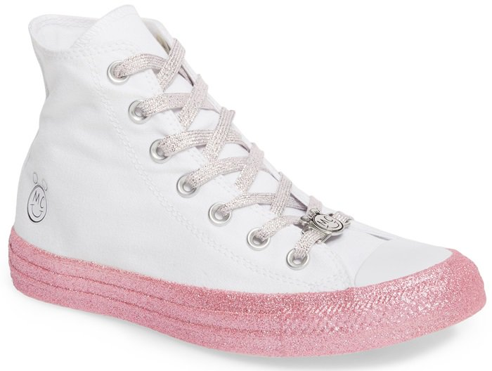 Glitter High Top Sneakers