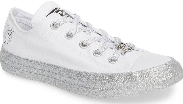 Glitter Low Top Sneakers