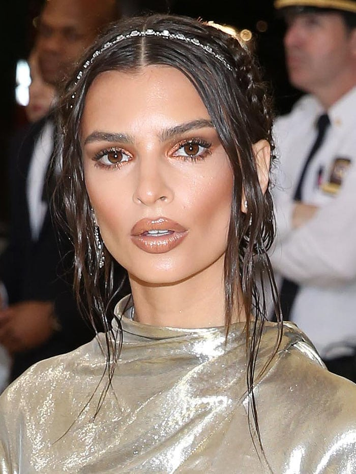 Emily Ratajkowski at the 2018 Met Gala.