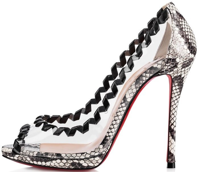 Roccia Printed Watersnake 'Hargaret' Pump