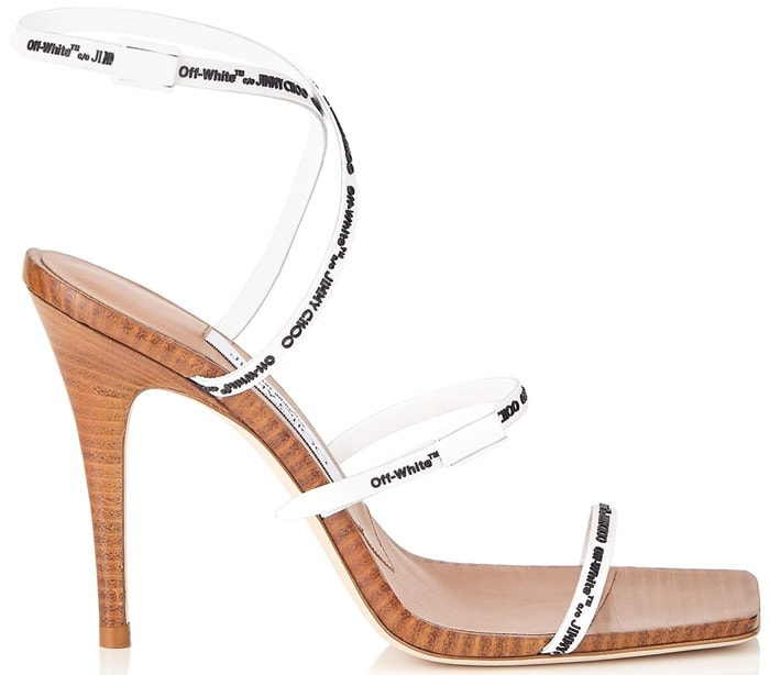 Jimmy Choo X Off-White Jane 100 sandals