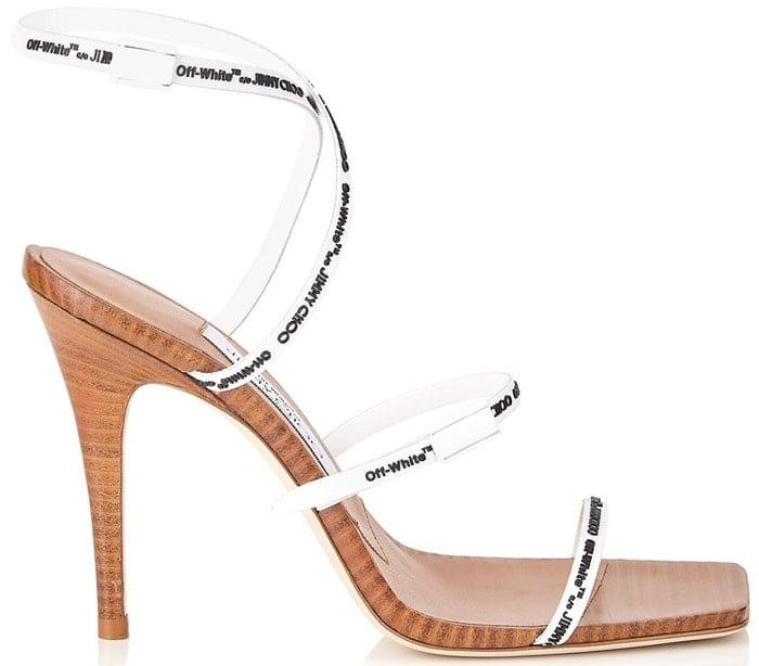 Jimmy Choo X Off-White Jane 100 sandals