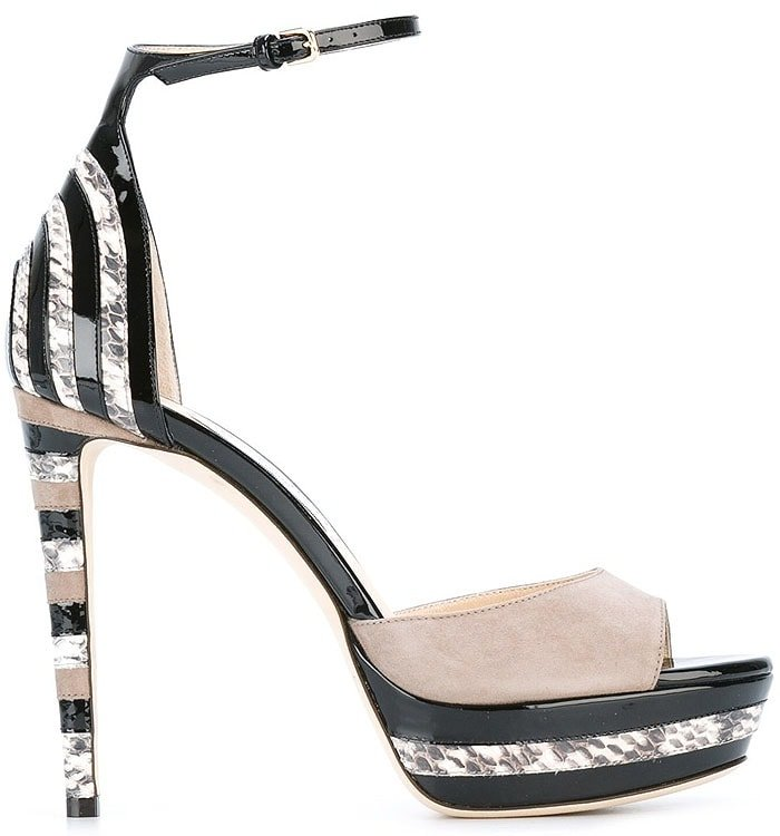 Jimmy Choo 'Max' Platform Sandals
