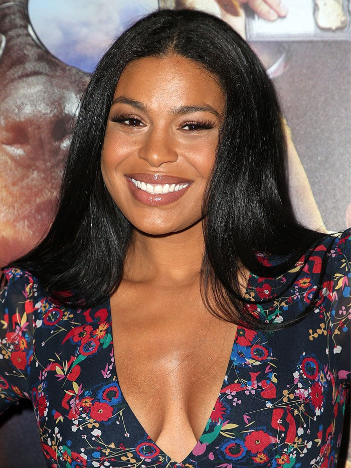 "Jordin Sparks at the premiere of ""Show Dogs"" at the TCL Chinese Theatre in Hollywood, California, on May 5, 2018."