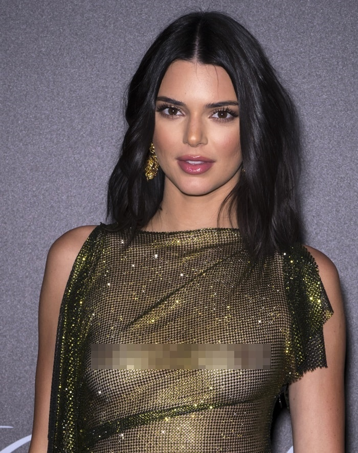 Kendall Jenner dazzled in jewelry by Chopard