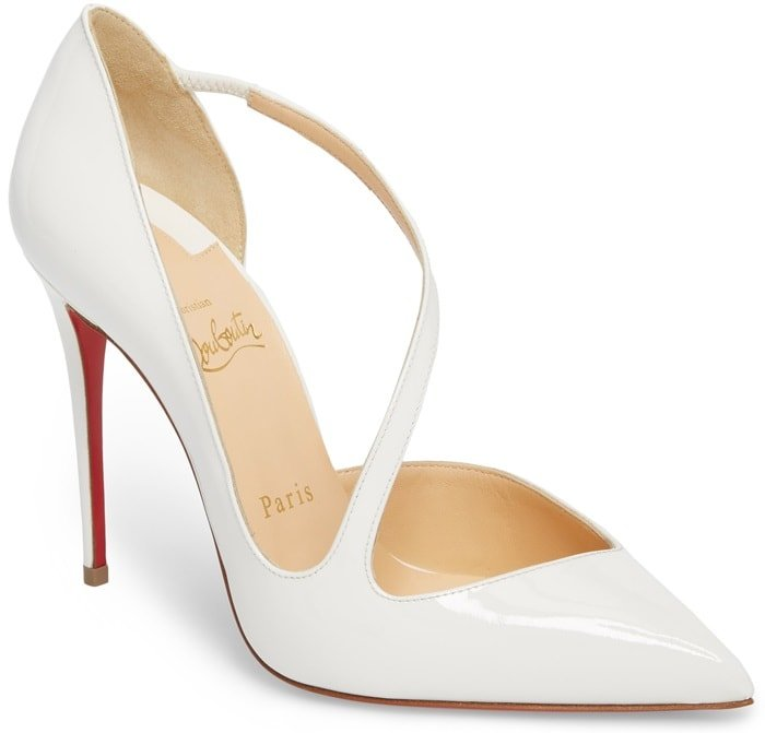Latte Strappy Half d'Orsay 'Jumping' Pumps