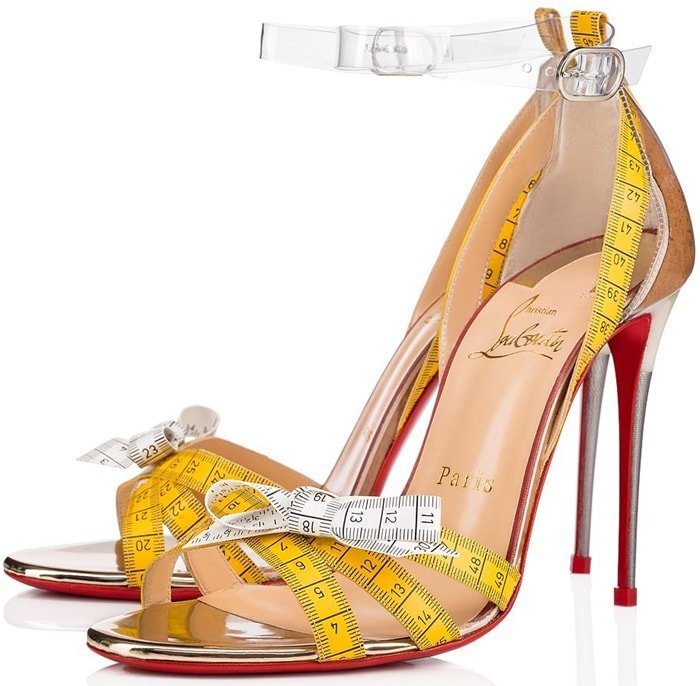 Metricathy And Measuring Tape Pumps And Sandals By Louboutin