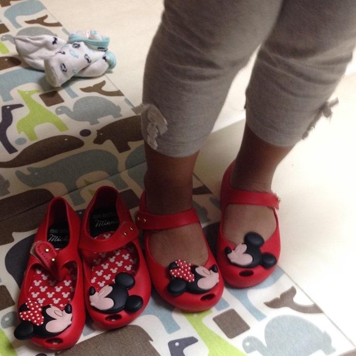 Mini Ultragirl + Disney Toddler Shoes