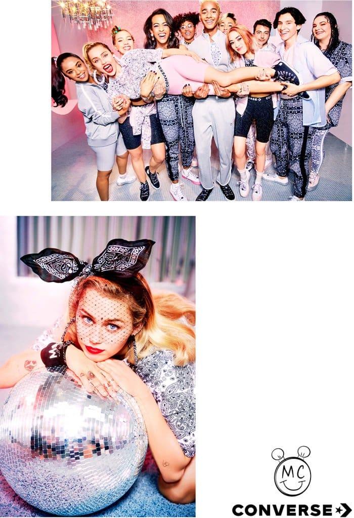 Miley Cyrus x Converse Collection Lookbook
