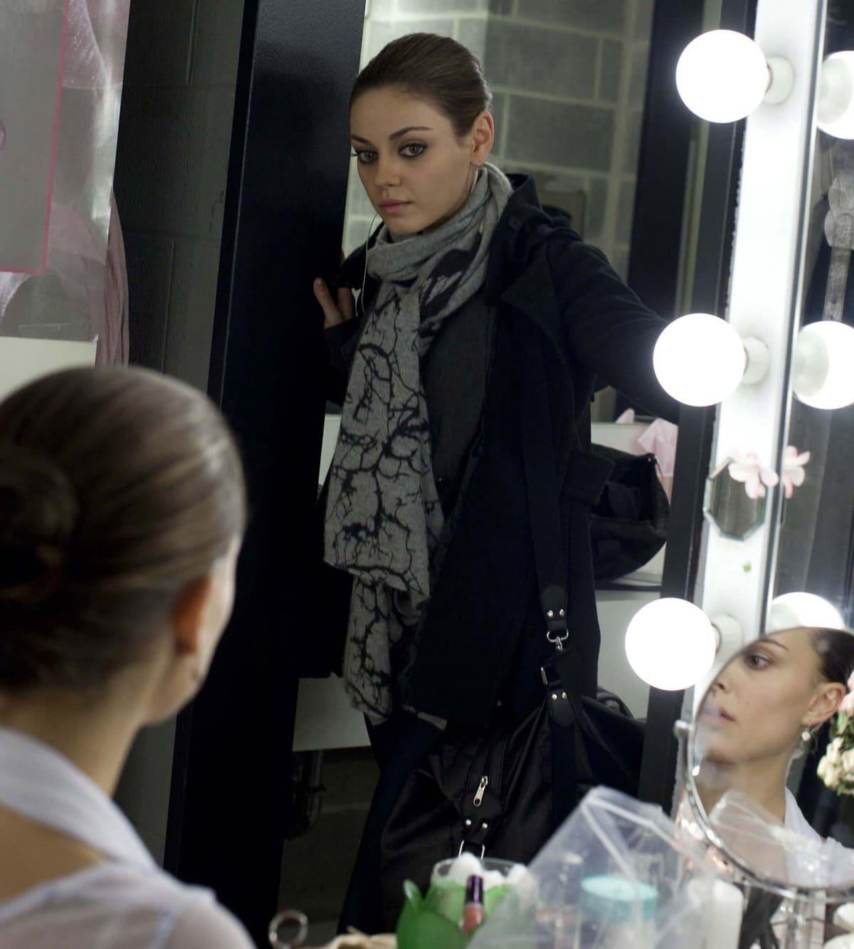 Natalie Portman and Mila Kunis became friends filming the 2010 dance drama Black Swan