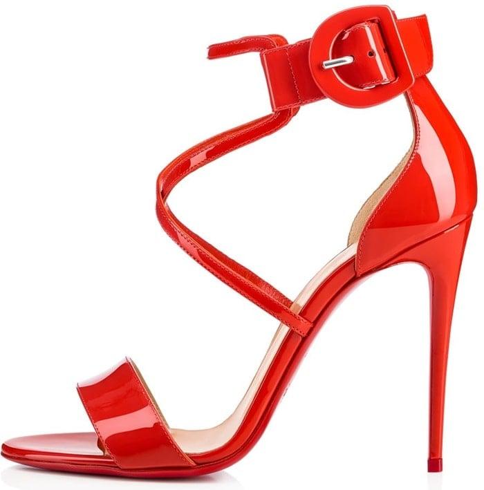 Red Choca Red Sole Sandals