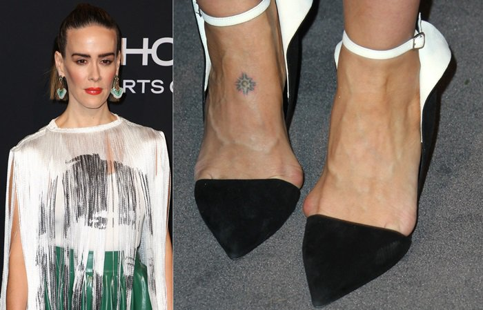 Sarah Paulson reveals her foot bunions