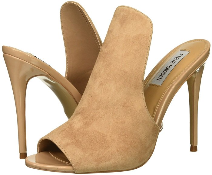 Nude Mule-Inspired Sinful Stiletto Heels