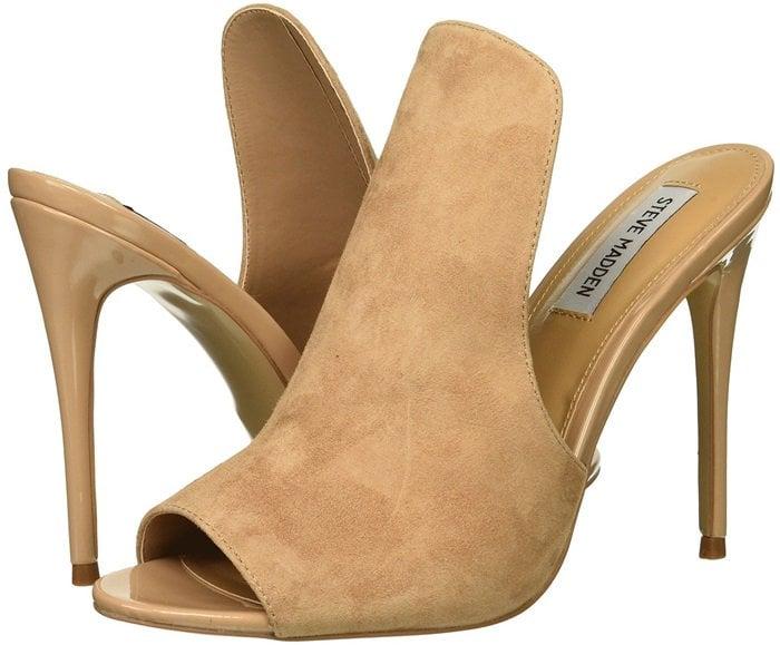 Nude Mule-Inspired Sinful Stiletto Heels