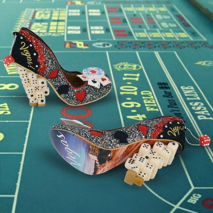 Stacked Dice Las Vegas Heels