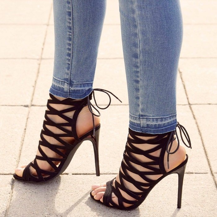 'Andreja' Heeled Sandals