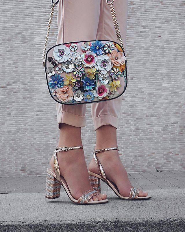 Block Heel 'Carerith' Sandals