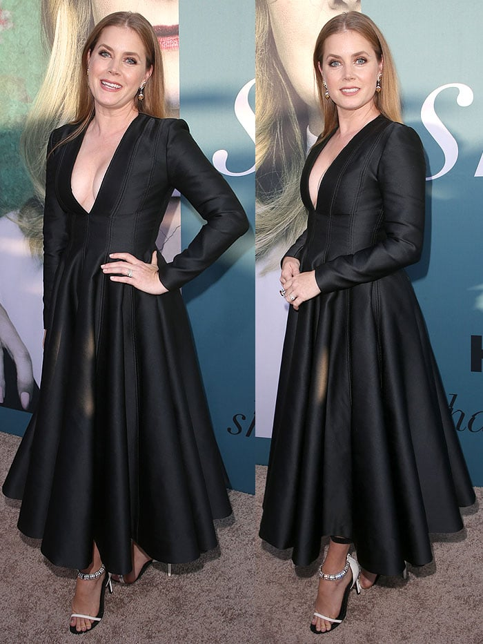 "Amy Adams at the premiere of HBO miniseries ""Sharp Objects"" at the Cinerama Dome in Los Angeles, California, on June 26, 2018."