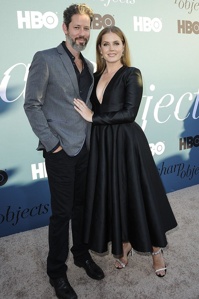 Amy Adams with husband Darren Le Gallo.