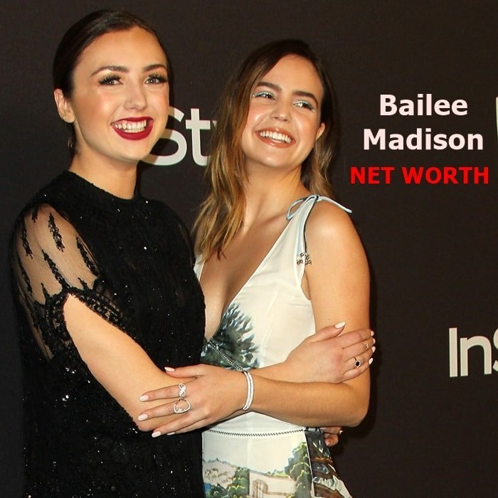 Bailee Madison's net worth is $6 million