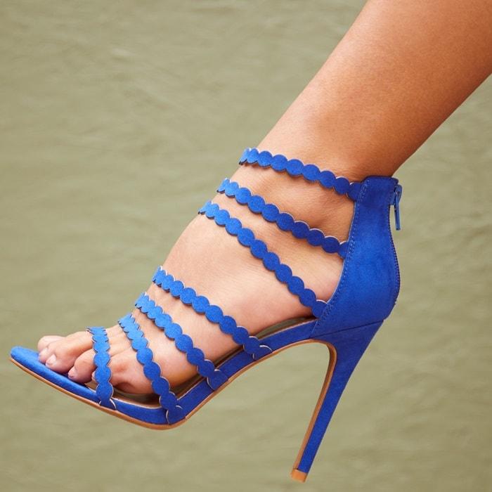 Bold & Blue 'Sivan' Heels