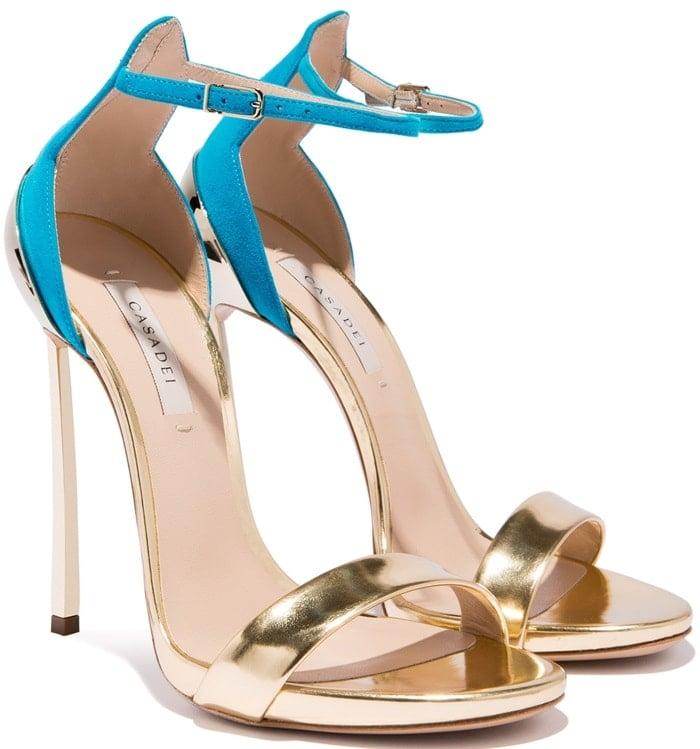 Gold & Sky-BlueMarettimo Techno Blade Sandals