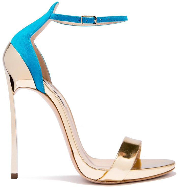 Gold & Sky-BlueMarettimo 'Techno Blade' Sandals