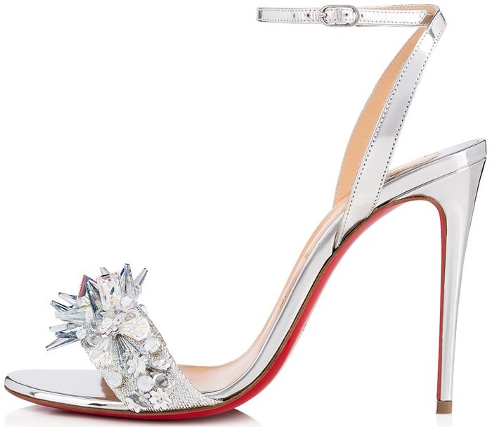 Christian Louboutin Okydok Crystal Embellished Sandals