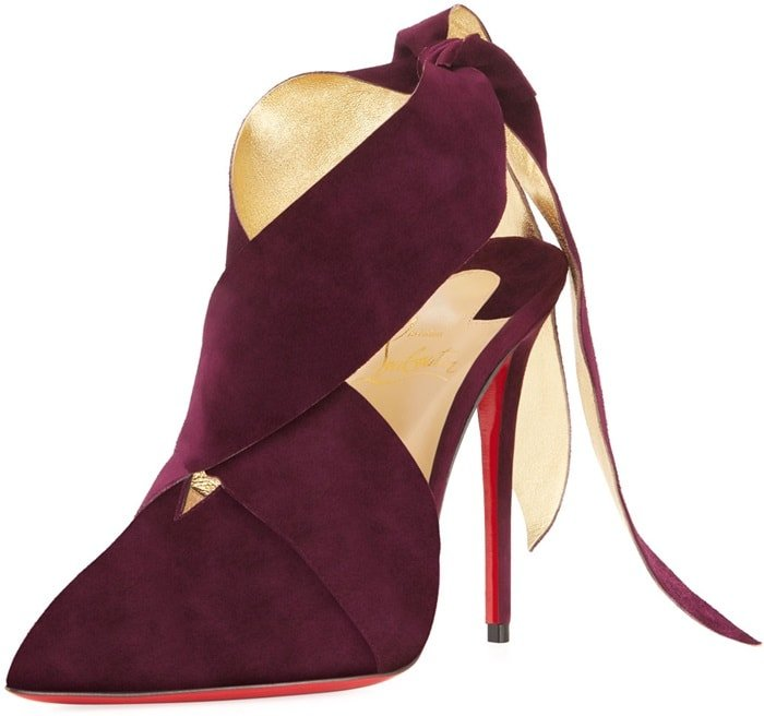 Christian Louboutin 'Ramour' Suede Red Sole Pumps