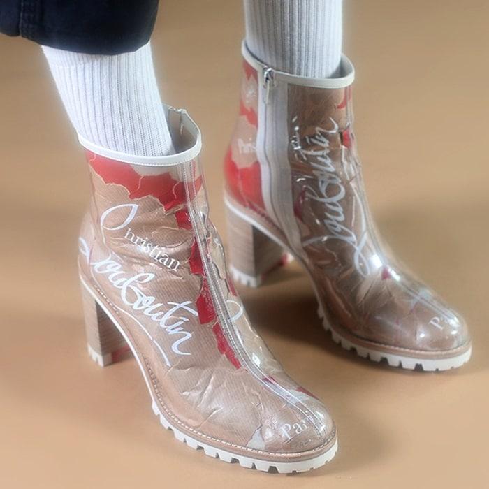 Croche Kraft Round Toe Boots