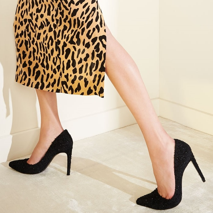 Stuart Weitzman Curvia Pointy-Toe Pumps