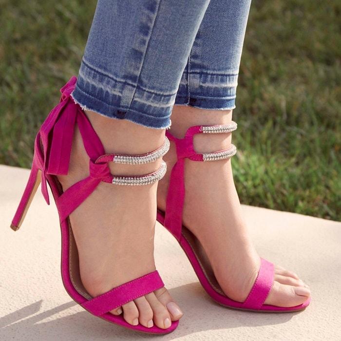 Rhinestone 'Dascia' Sandals