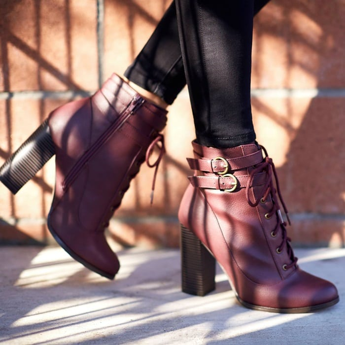 Lace-Up 'Devorah' Booties