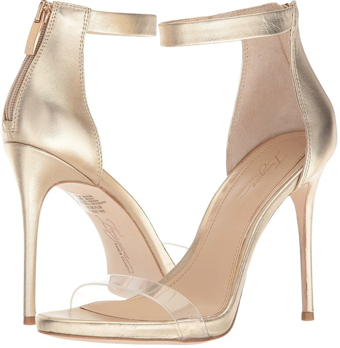 Diva Heeled Sandals With Transparent Straps