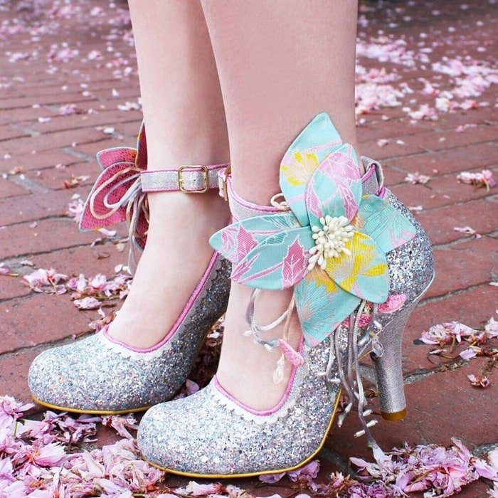 Glittering 'Sweet Melody' Pumps