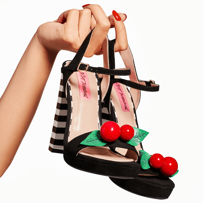 Izzie Cherry Detail Sandals