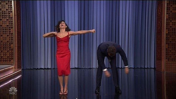 Jenna Dewan rocked four-inch Olgana Paris heels