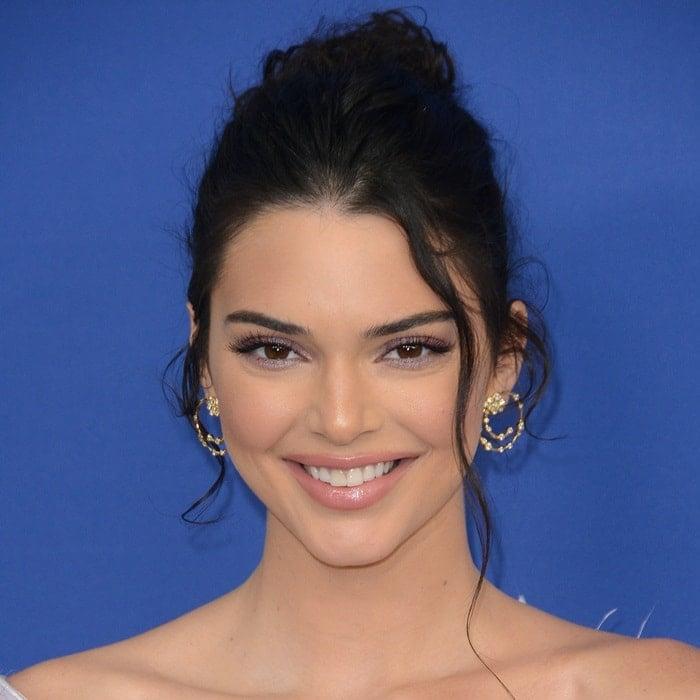 Kendall Jenner's diamond earrings designed by Ippolita Rostagno