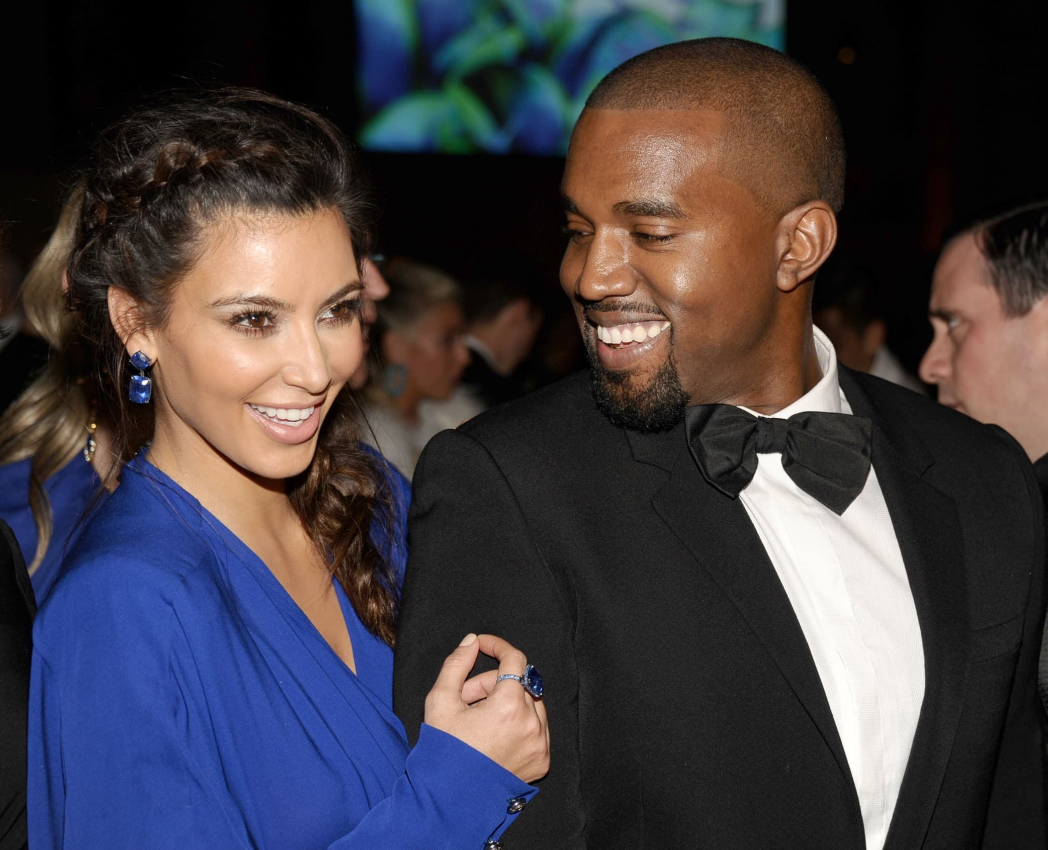 """Kim Kardashian and Kanye West started dating soon after he professed his love for her in 2012 with his song """"Cold"""""""