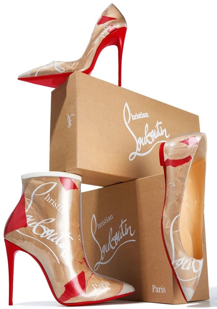Discover the ultimate secrets of the French shoe designer with the Kraft Loubi pattern