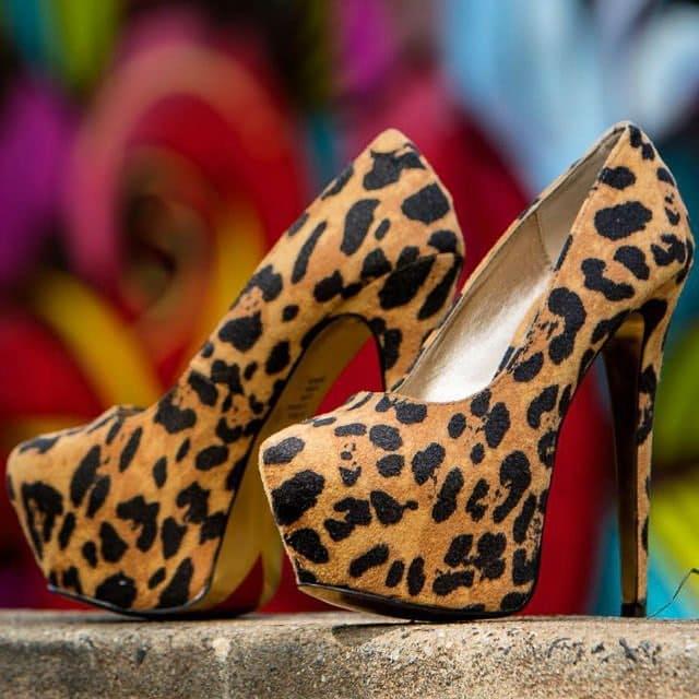 Leopard 'Me Chelle' Pumps