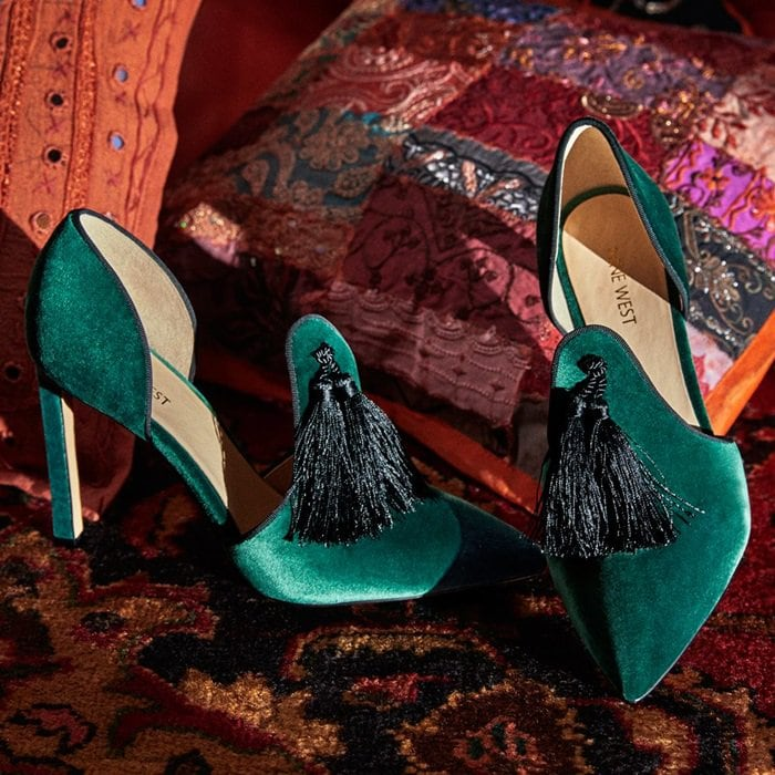 Tyrell Fabric Pumps