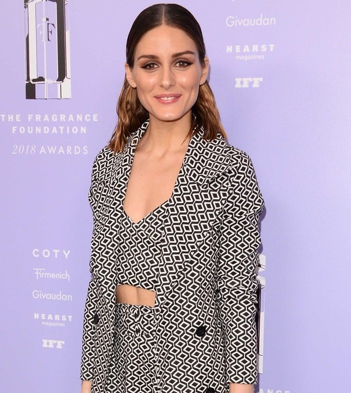 Olivia Palermo at the 2018 Fragrance Foundation Awards held at Alice Tully Hall in New York City on June 12, 2018