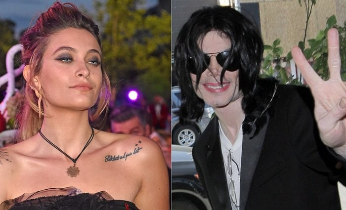 Paris-Michael Katherine Jackson is the daughter of Michael Jackson and Debbie Rowe