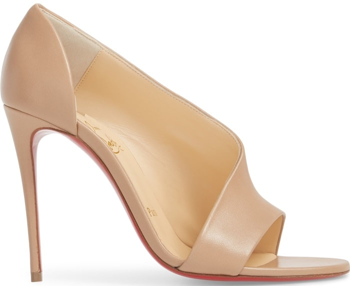 Nude 'Phoebe' 100 Leather Sandals
