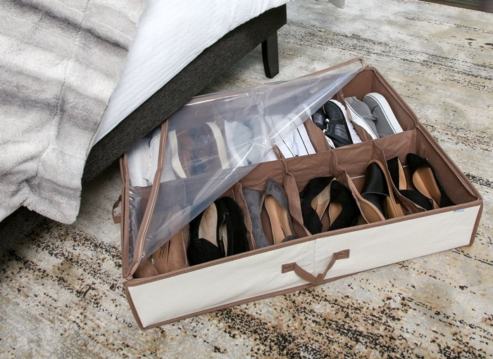 Pro-Mart Under Bed Shoe Organizer