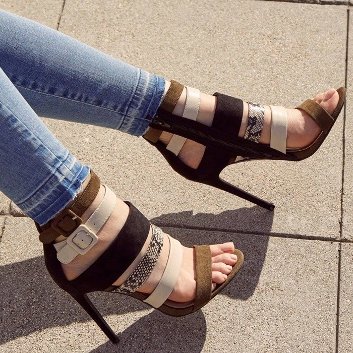 'Selinia' Strappy Heels