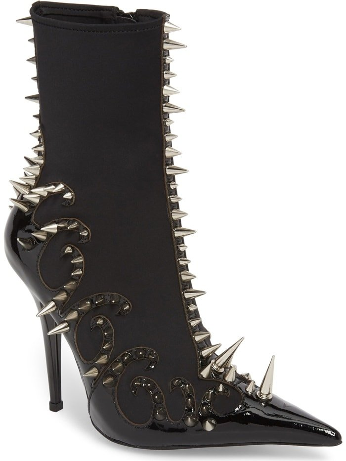Jeffrey Campbell Savage Spike Booties